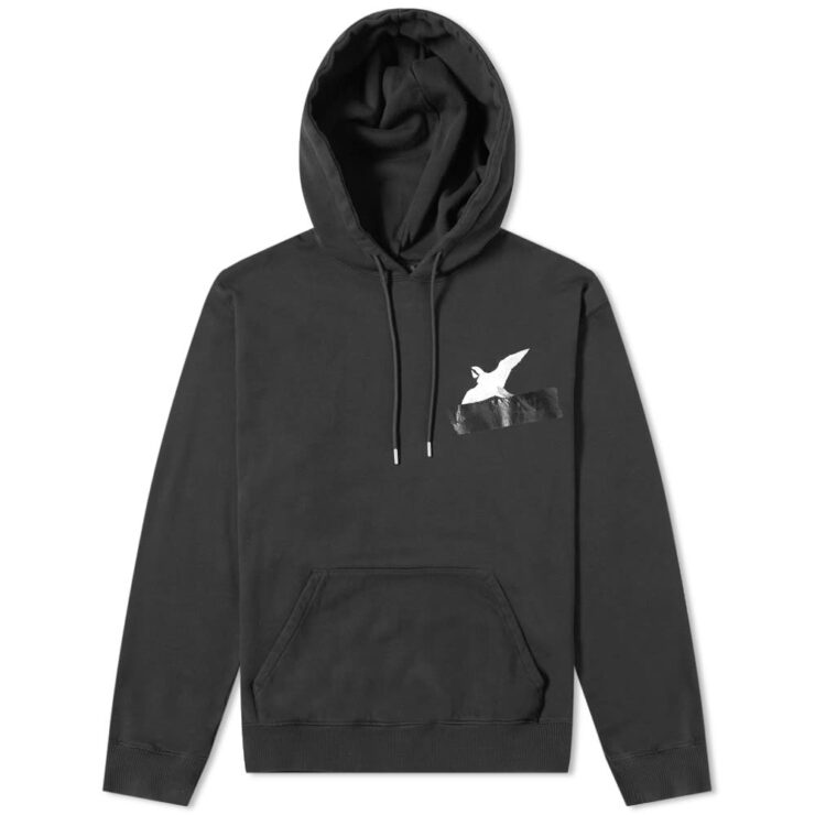 Axel Arigato Taped Bird Hoodie in Black