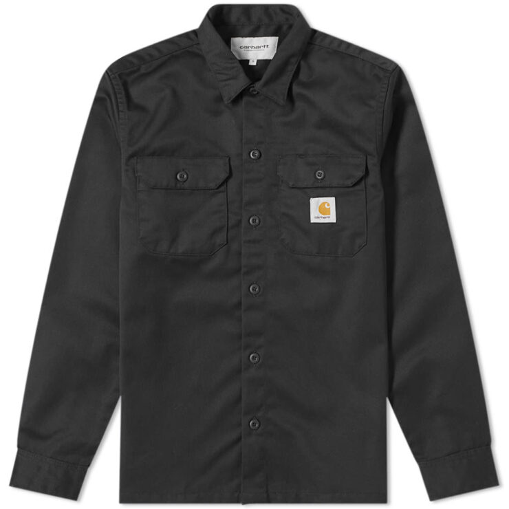 Carhartt Master Shirt in Black