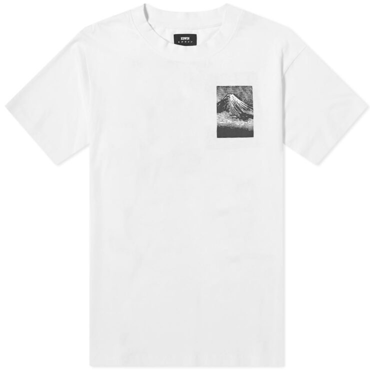 Edwin From Mount Fuji White T-Shirt