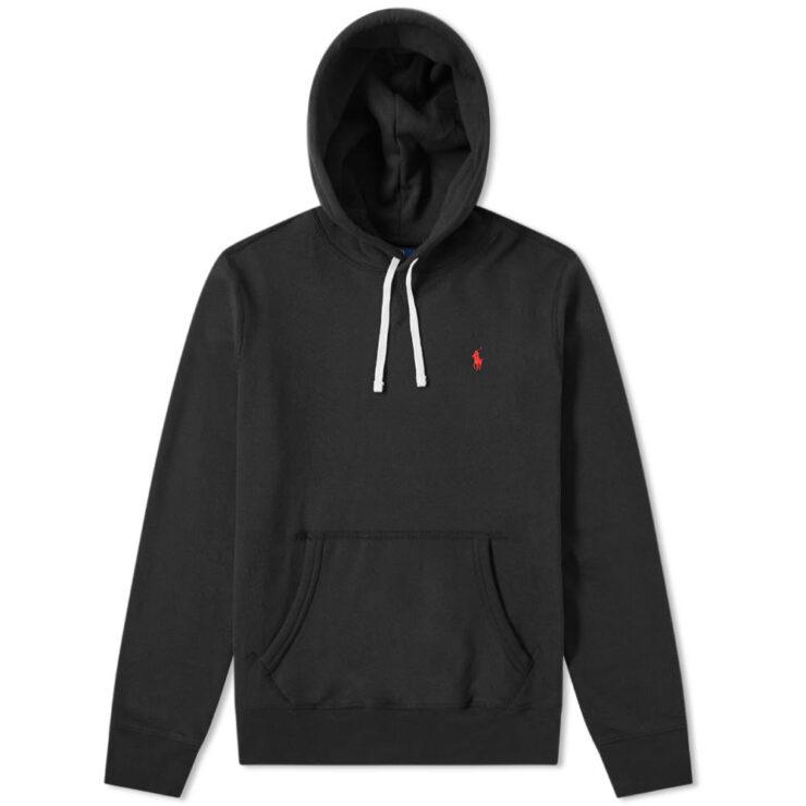 Polo Ralph Lauren Classic V-Insert Hoody 'Black'