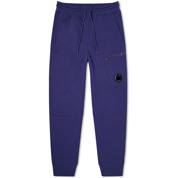 C.P. Company Pocket Lens Zip Sweatpants 'Blueprint'