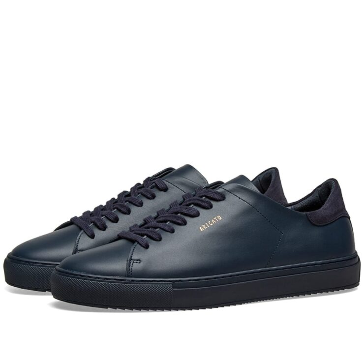 Axel Arigato Clean 90 Sneaker in Navy Blue