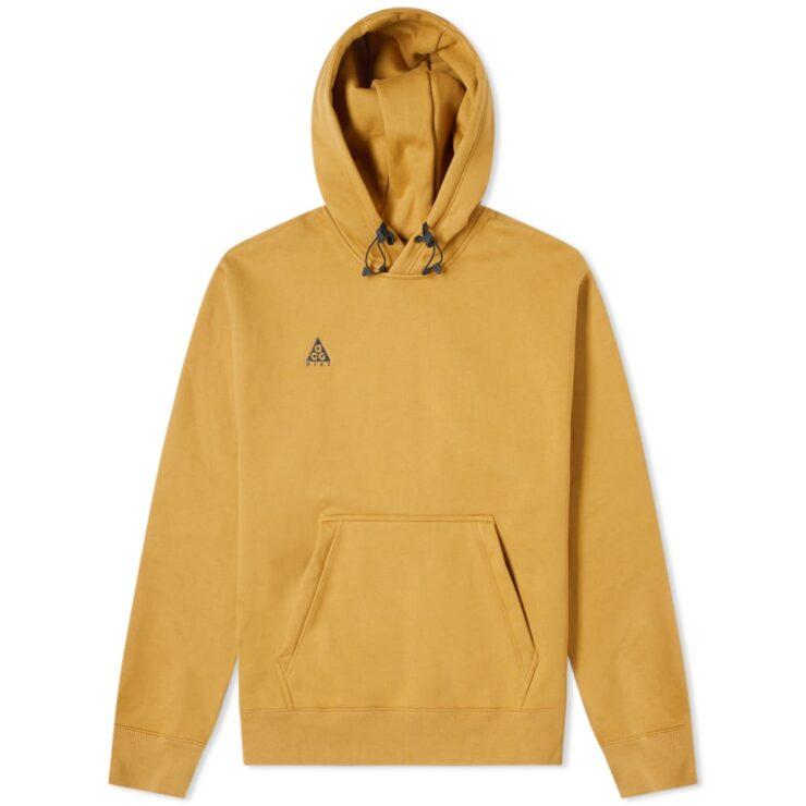 Nike ACG NRG Pullover Hoodie in Wheat