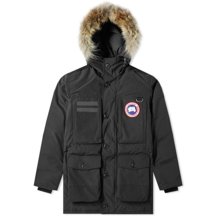Canada Goose Macculloch Arctic Shell Parka in Black