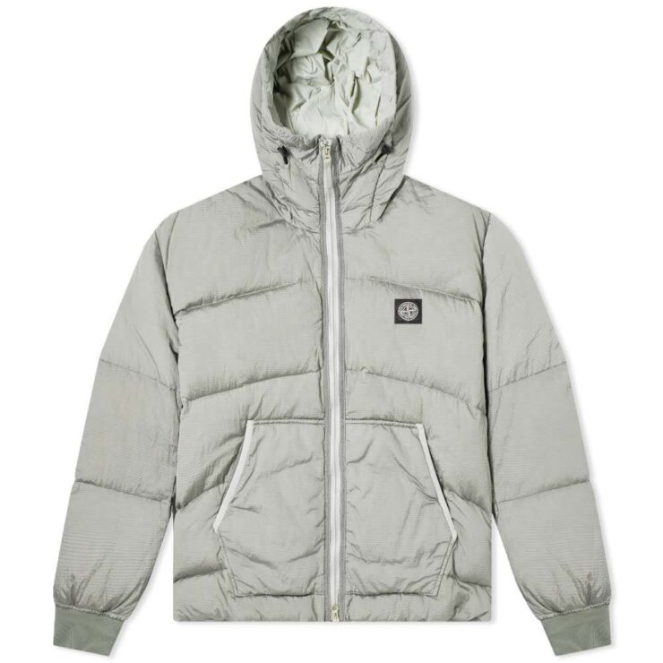 Stone Island Metal Nylon Watro Ripstop Jacket in Dust