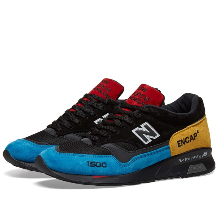 New Balance M1500 UCT Made in England in Blue, Red, Black and Yellow