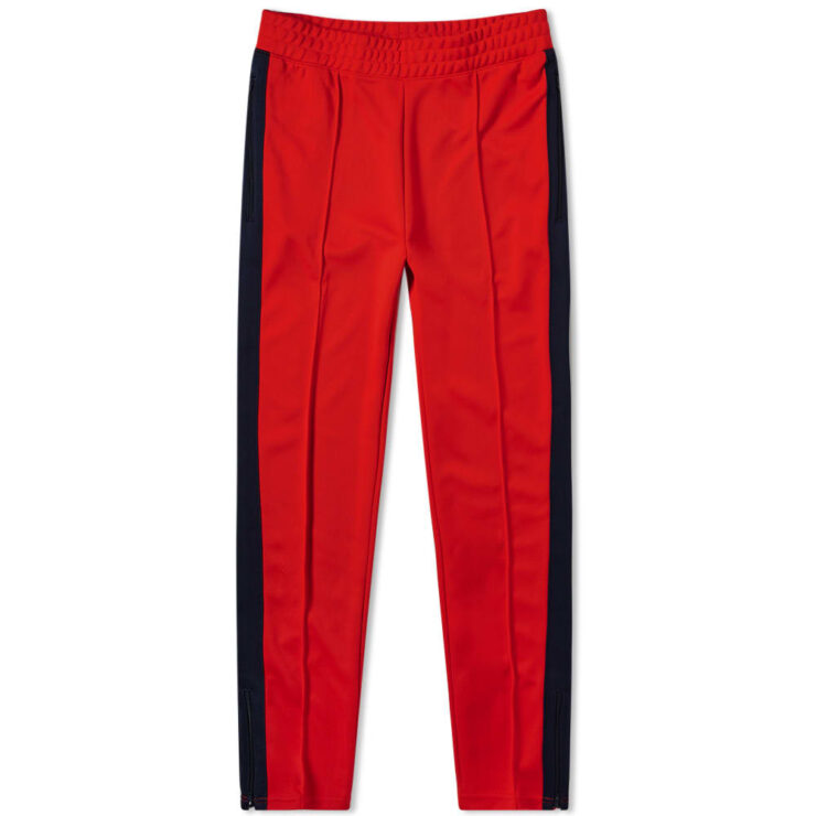 Nike x Martine Rose University Trackpants in Red and Blue