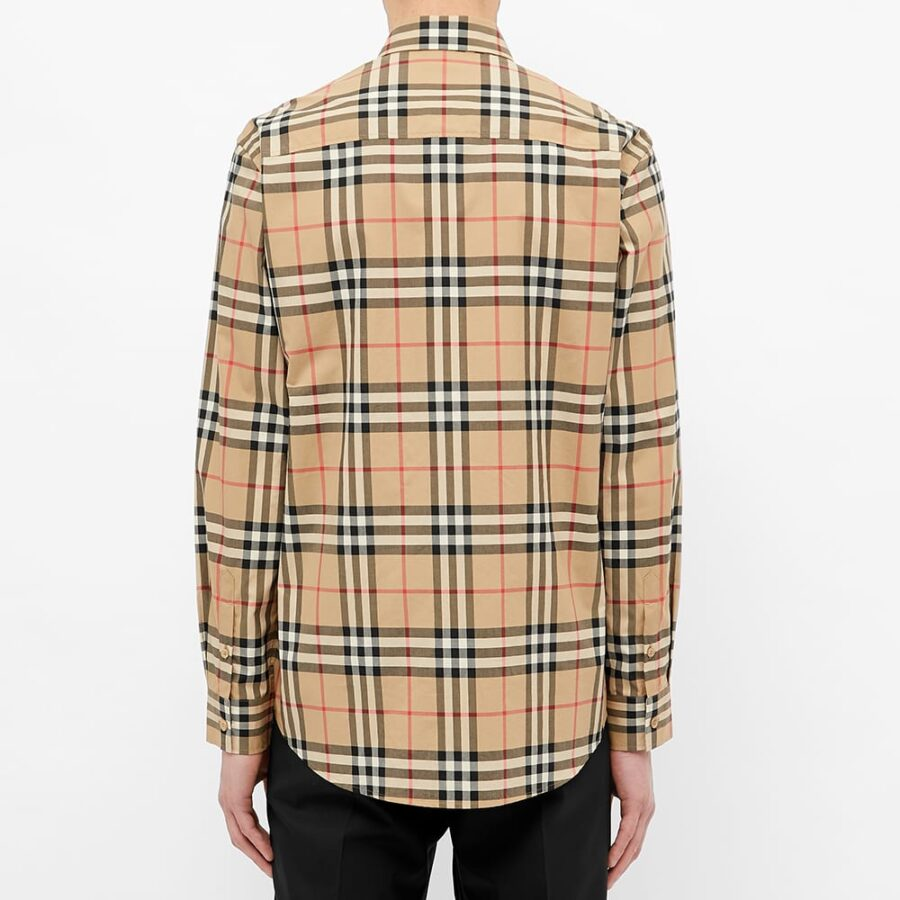 Burberry Caxton Check Shirt 'Archive Beige'