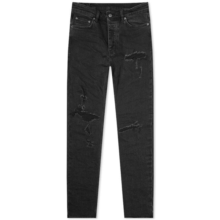 Ksubi Chitch Concrete Slim Fit Jeans in Black