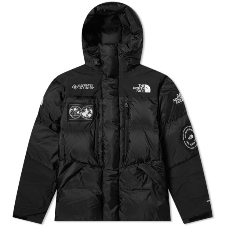 The North Face Seven Summits Series Gore-Tex Himalayan Parka in Black
