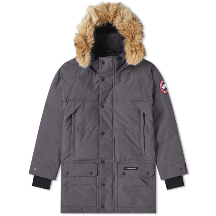 Canada Goose Emory Parka Jacket in Graphite Grey