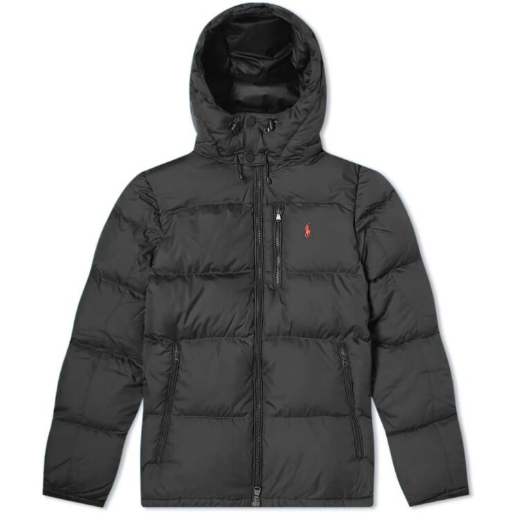 Polo Ralph Lauren El Cap Down Filled Jacket in Black