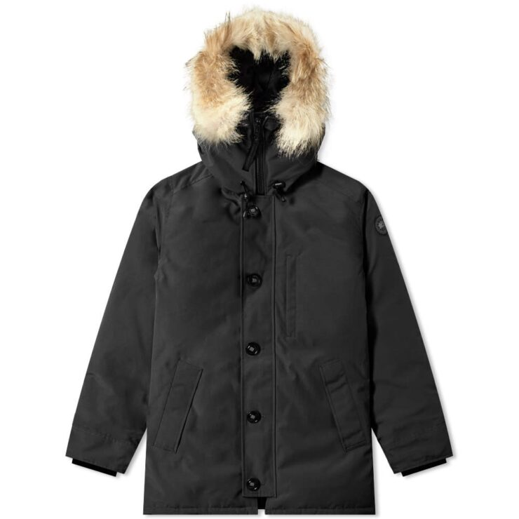 Canada Goose Black Label Chateau Parka Jacket in Black