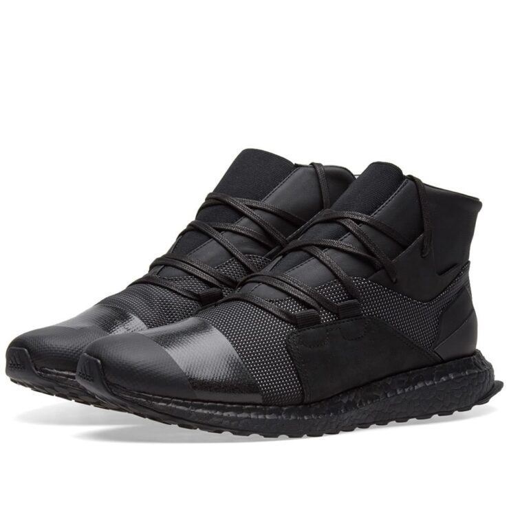 Y-3 Kozoko High Top Sneakers in Black