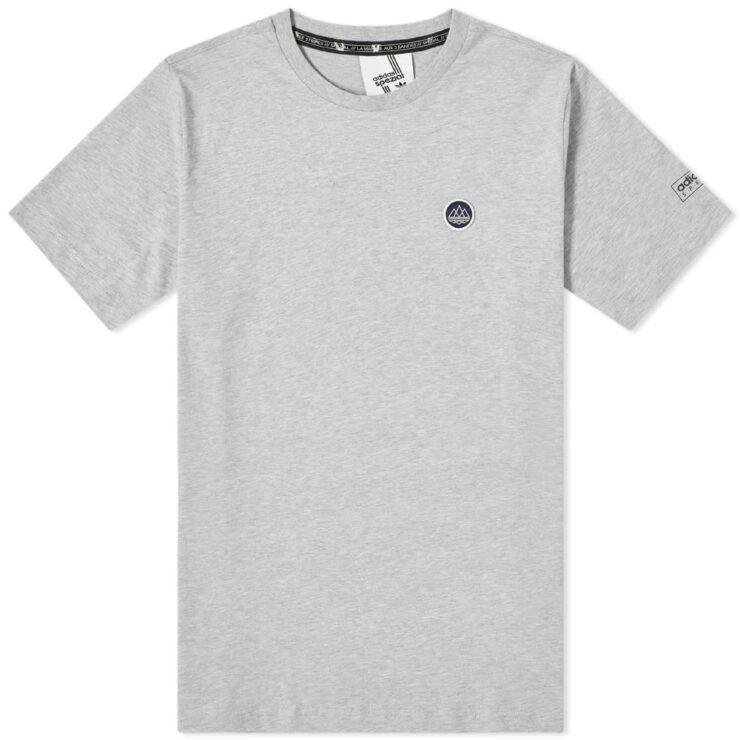 Adidas Spezial SPZL T-Shirt in Grey Heather
