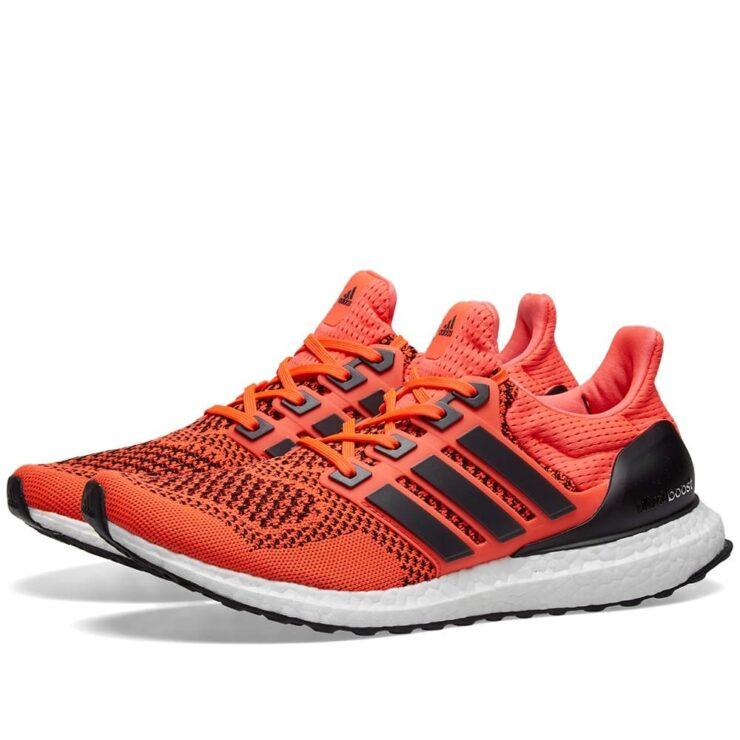 Adidas Ultraboost 1.0 in Solar Orange & Black