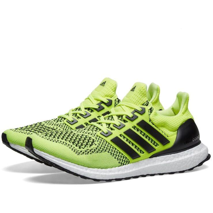 Adidas Ultraboost 1.0 in Solar Yellow & Black