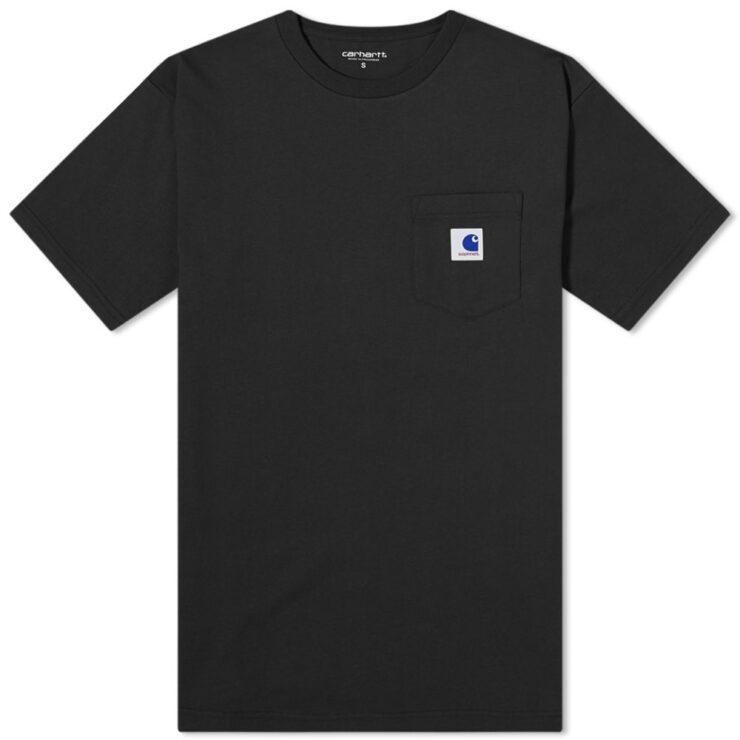 Carhartt WIP x Sophnet. 20 Pocket T-Shirt in Black