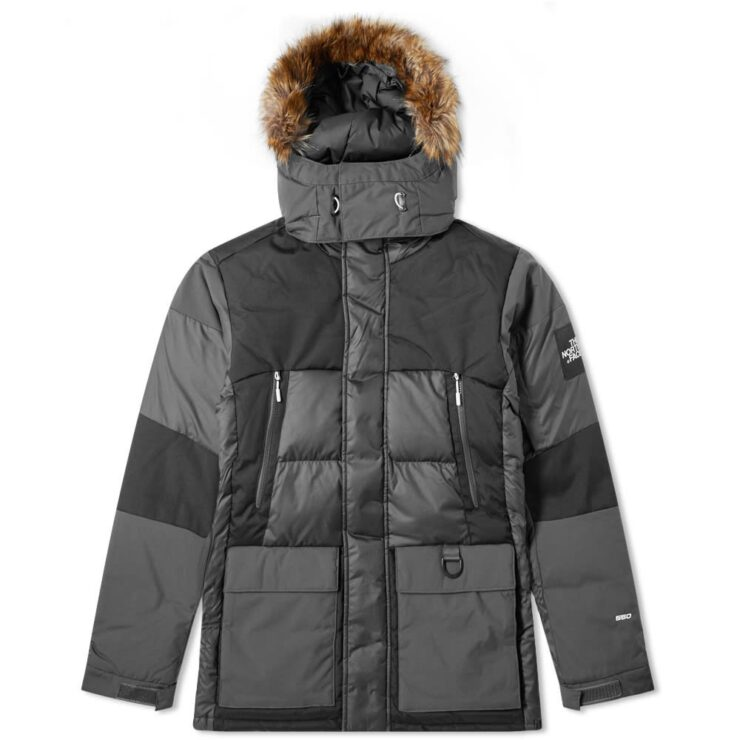 The North Face V-Stok Parka Grey & Black