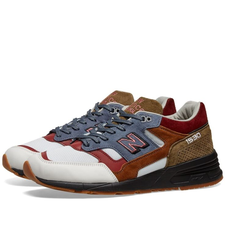 New Balance M1530 Scarlet Stone Made in England Brown, Olive and Grey