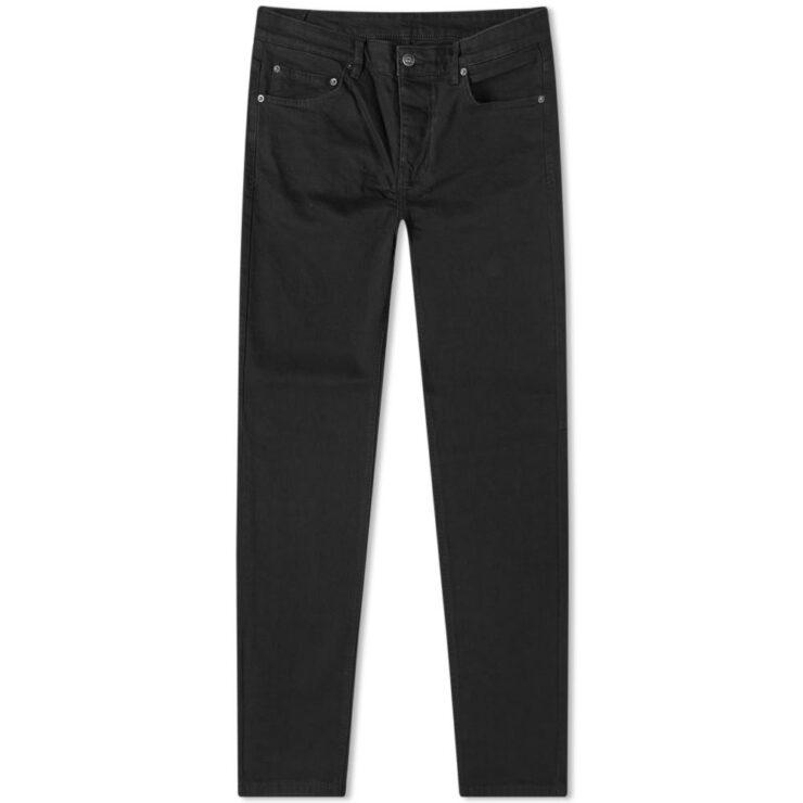 Ksubi Chitch Slim Tapered Jeans Black