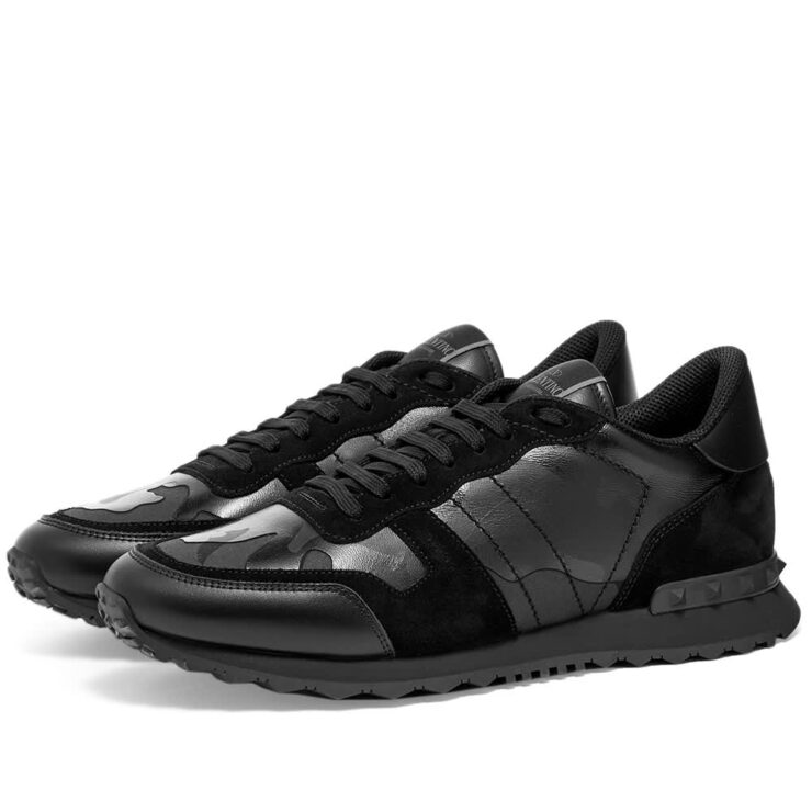 Valentino Rockrunner Sneakers 'Black Camo'