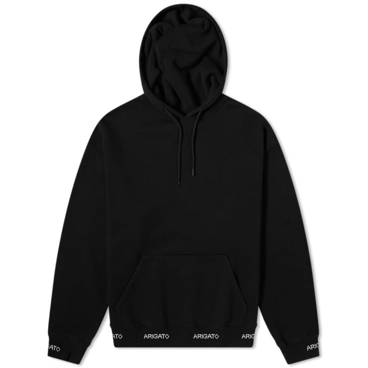 Axel Arigato Feature Logo Hem Hoody 'Black'