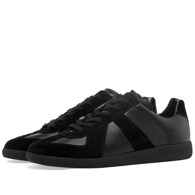 Maison Margiela 22 Tonal Replica Sneakers - Black