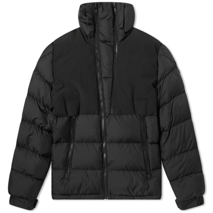 Moncler Laveda Hooded Down Tech Jacket - Black