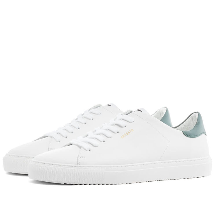 Axel Arigato Clean 90 Sneakers 'White & Green'