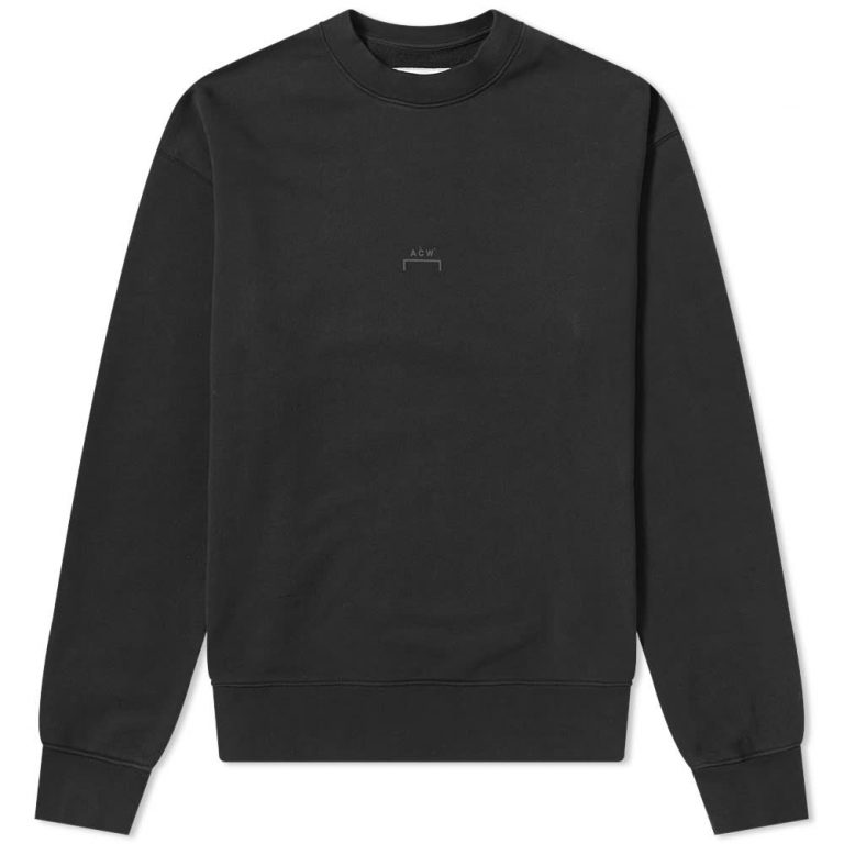 A-Cold-Wall* LOGO Crewneck Sweatshirt 'Black'