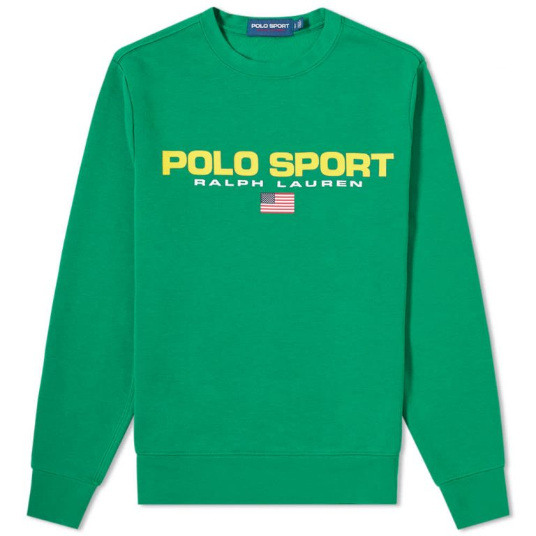 Polo Sport Crewneck Sweatshirt 'English Green'