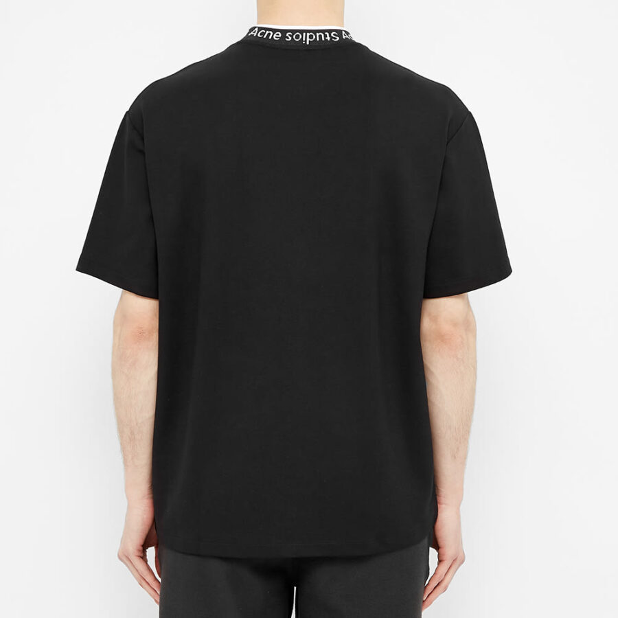 Acne Studios Extorr Logo T-Shirt 'Black'