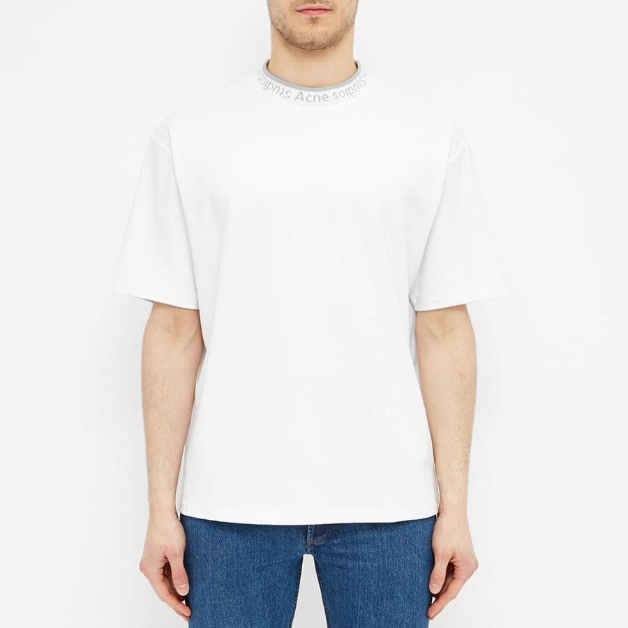 Acne Studios Extorr Logo T-Shirt 'White'