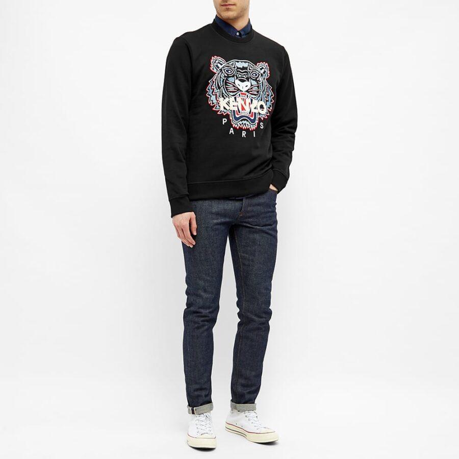 Kenzo Classic Tiger Crewneck Sweatshirt 'Black'