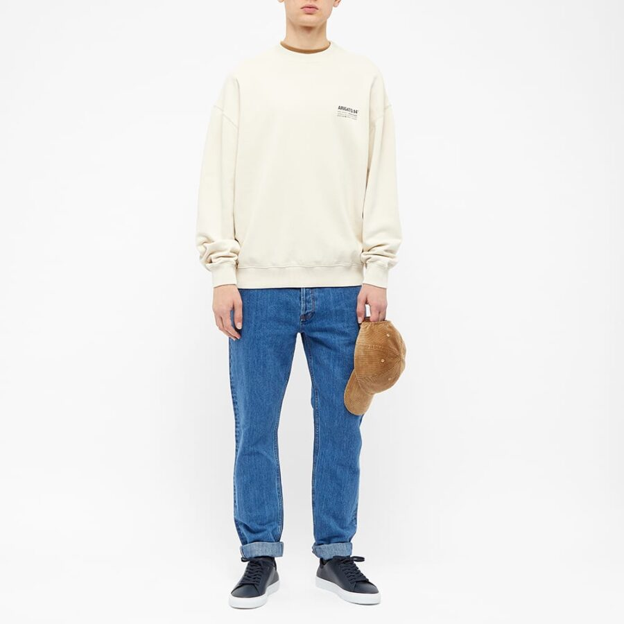 Axel Arigato DNA Crewneck Sweatshirt 'Light Beige'