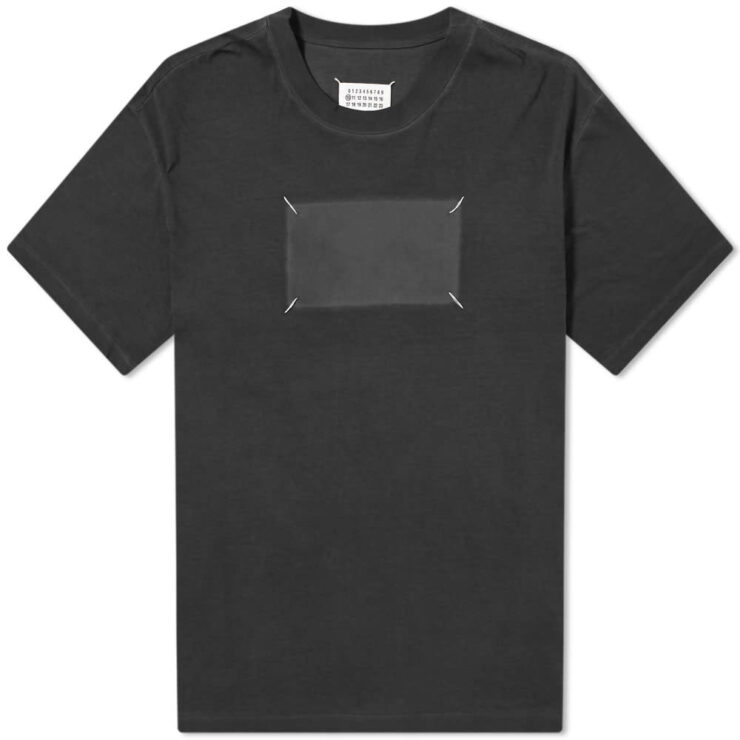 Maison Margiela 10 Ghost Logo T-Shirt 'Black'