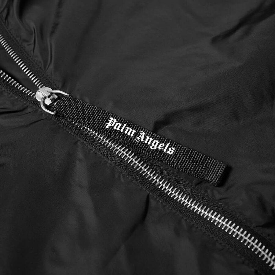 Palm Angels College Logo Windbreaker 'Black'