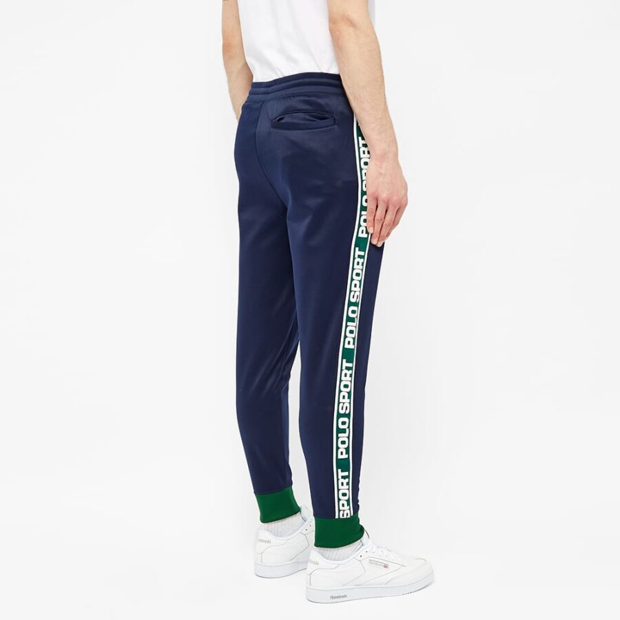 Polo Sport Ralph Lauren Taped Trackpants 'Navy & Green'