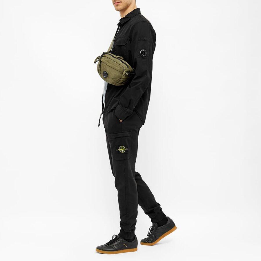 Stone Island Garment Dyed Sweatpants 'Black'