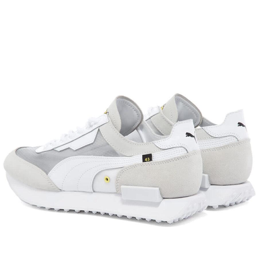 Puma x Chinatown Market Future Rider Sneakers 'White'