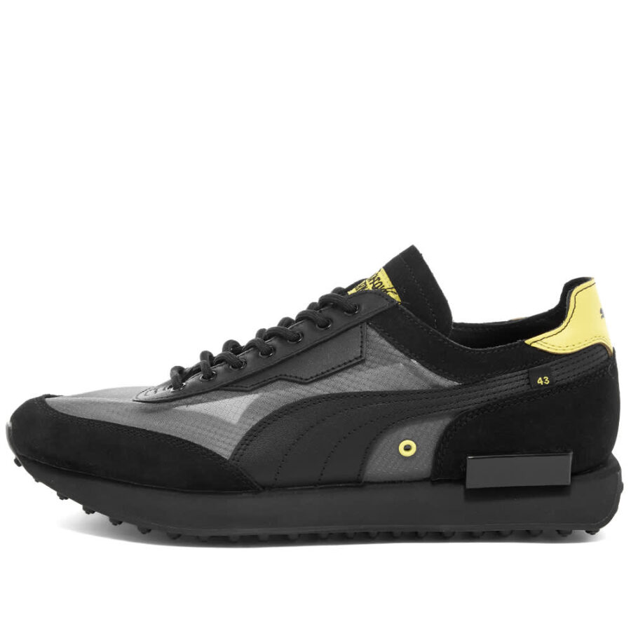 Puma x Chinatown Market Future Rider Sneakers 'Black'