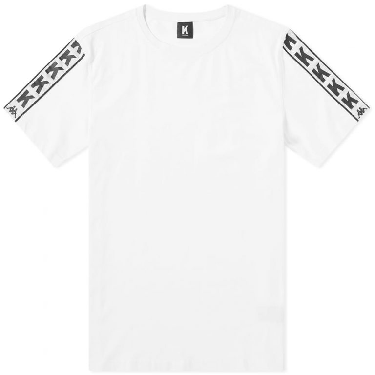Kappa Kontroll Sleeve Band T-Shirt 'White'
