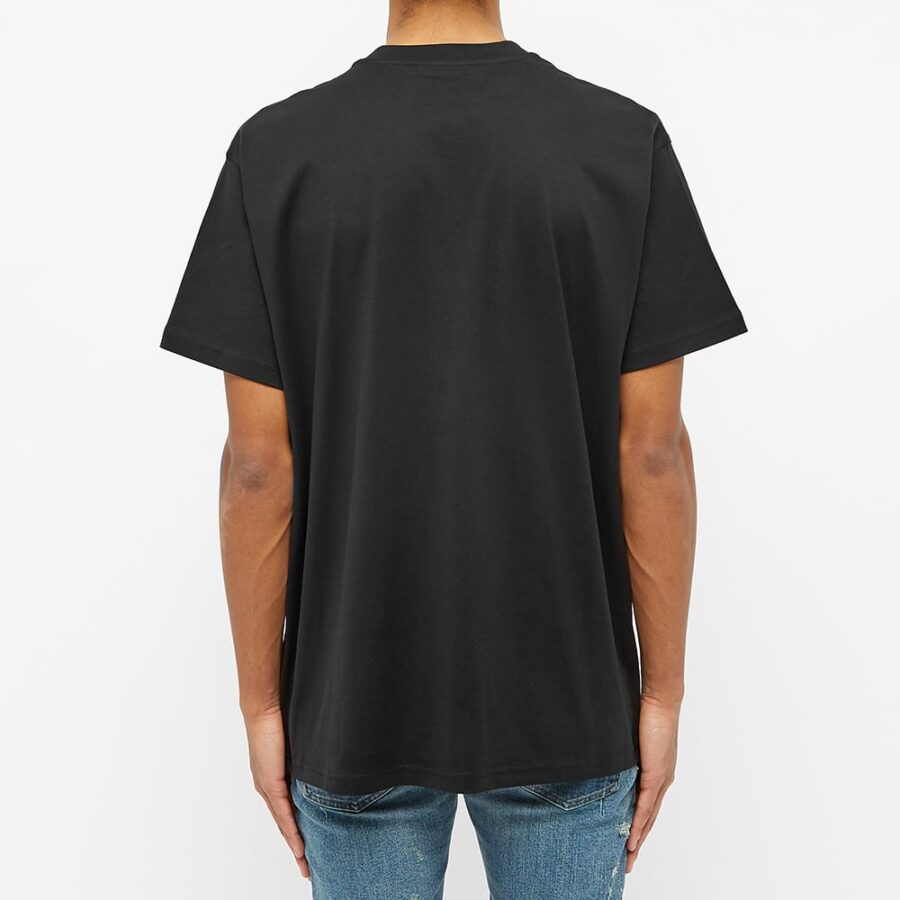 Givenchy Oversized Burning Question T-Shirt 'Black'