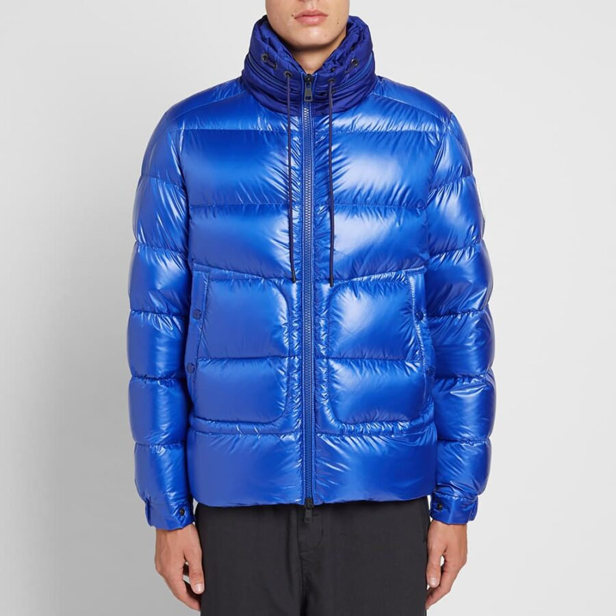 Moncler Badenne Ripstop Hooded Down Jacket 'Royal Blue'