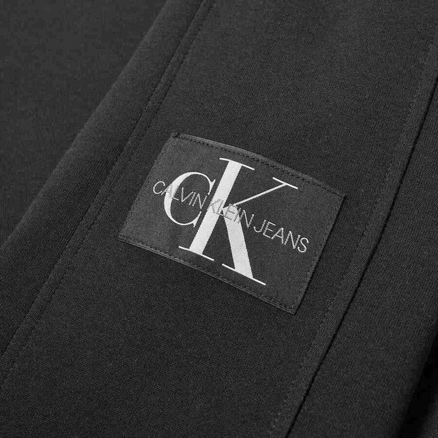 Calvin Klein Nylon Hooded Sweatshirt 'Black'