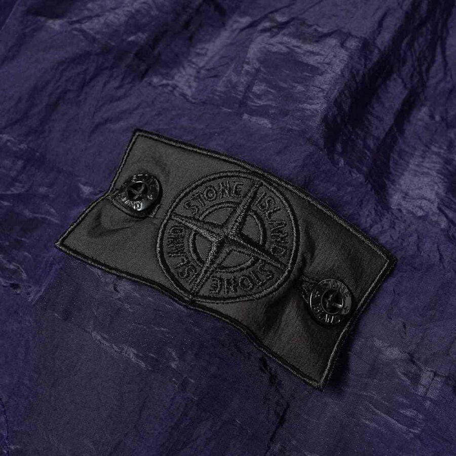 Stone Island Shadow Project Striped Nylon Metal Smock Jacket 'Navy Blue'