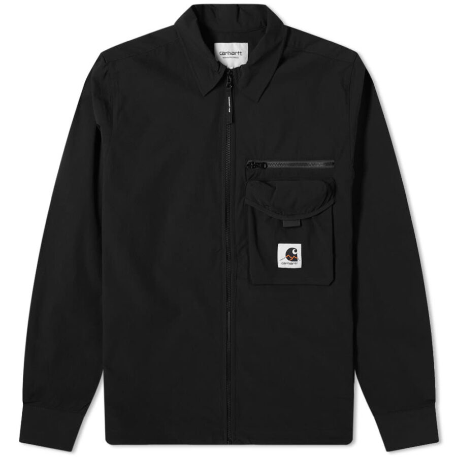 Carhartt WIP Hayes Overshirt Jacket 'Black'