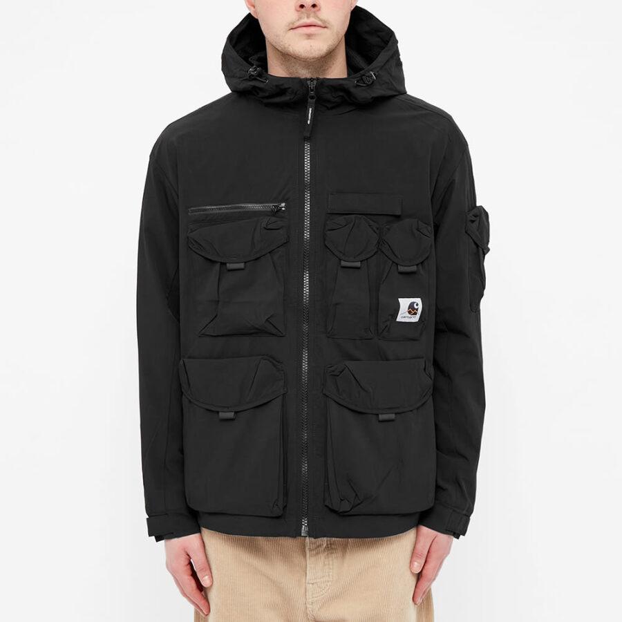 Carhartt WIP Hayes Hooded Jacket 'Black'