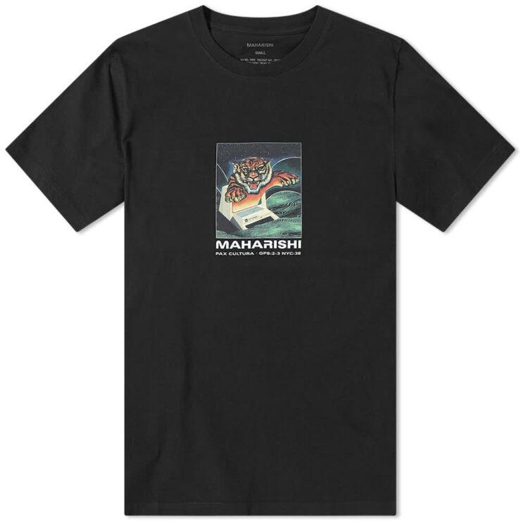 Maharishi Programma Tiger T-Shirt 'Black'